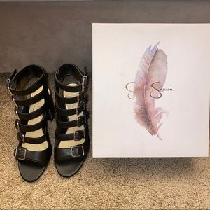 Jessica Simpson Peep toe heels